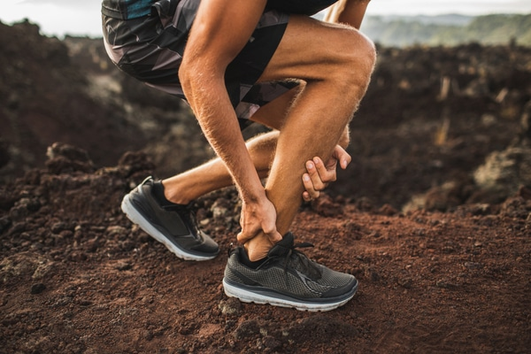 Achilles tendonitis pain can bring your trail runs to a screeching halt